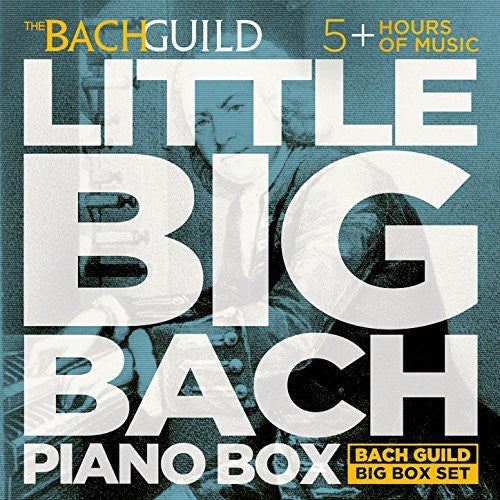 Little Big Box of Bach Piano (5 Hour Digital Boxed Set)