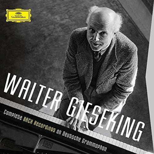 WALTER GIESEKING: COMPLETE BACH RECORDINGS (7 CDS)