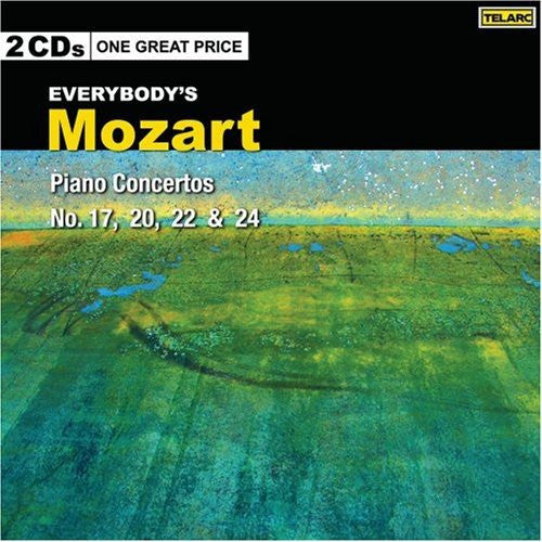Mozart: Everybody's Mozart - Piano Concertos Nos. 17, 20, 22 & 24; O'Conor, Mackerras (2 CDs)
