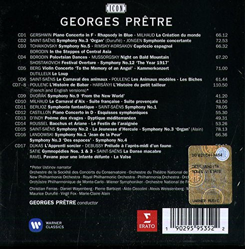 Georges Pretre: The Symphonic Recordings (Complete Erato Recordings) - 17 CDs