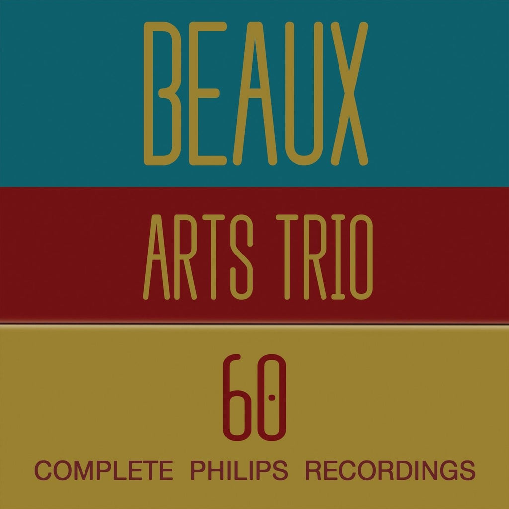 BEAUX ARTS TRIO - THE COMPLETE PHILIPS RECORDINGS (60 CDS)