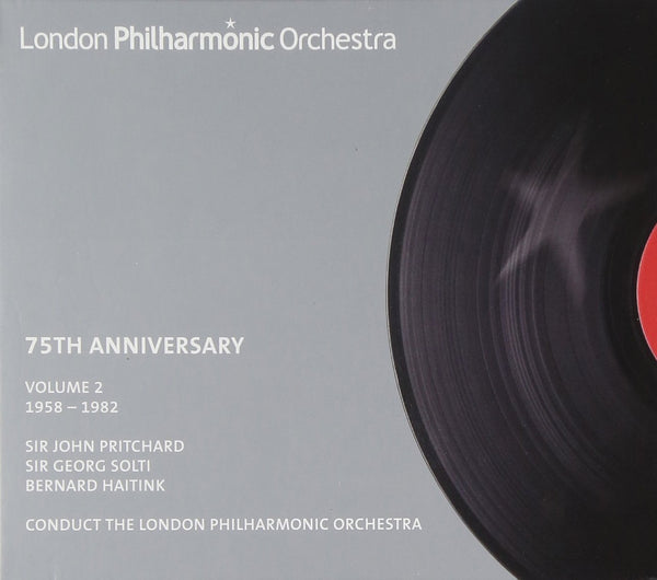 LPO 75TH ANNIVERSARY EDITION (VOLUME 2 1958-1982) - LONDON PHILHARMONIC ORCHESTRA; PRITCHARD; SOLTI; HAITINK (4 CDS)