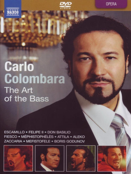 CARLO COLOMBARA: ART OF THE BASS (DVD) - COLOMBARA; BULGARIAN NATIONAL SYMPHONY ORCHESTRA; GHIAUROV; PRAGUE TCHAIKOVSKY ORCHESTRA; MILANI; ORCHESTRA DELLA SVIZZE