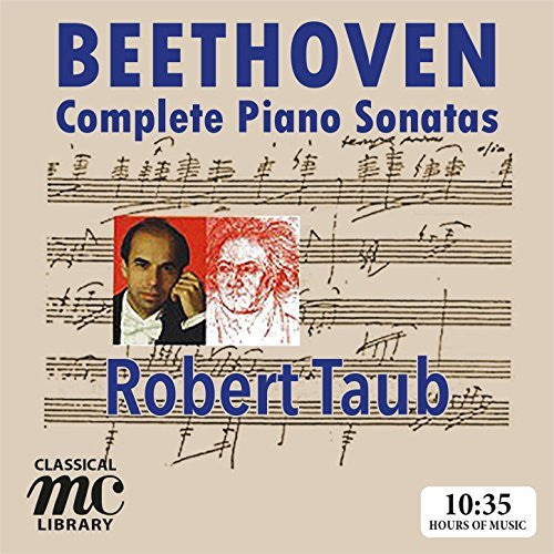 Beethoven: Complete Piano Sonatas - Robert Taub (Digital Download Boxed Set)