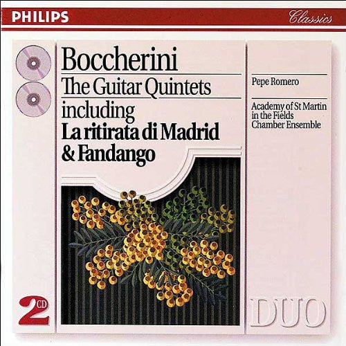 Boccherini: The Guitar Quintets - Pepe Romero, Academy of St. Martin in the Fields Chamber Ensemble (2 CDs)