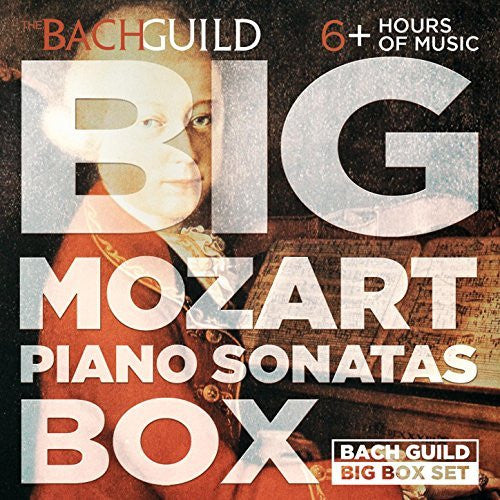 Big Mozart Piano Sonatas Box (Complete 6 Hour Digital Boxed Set) - Jeffrey Biegel