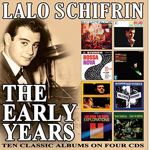 Lalo Schifrin - Early Years (4 CDS)