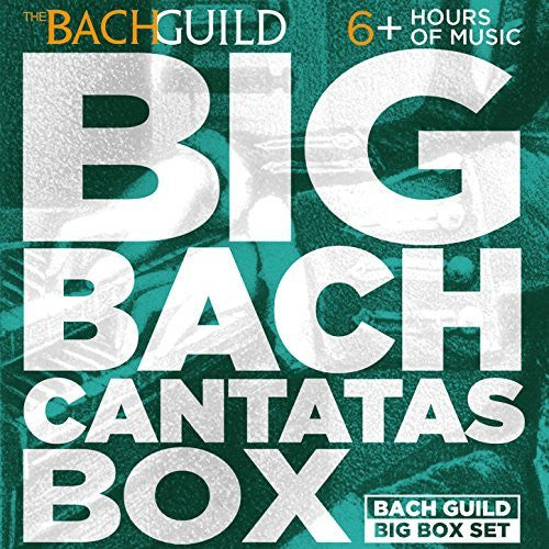 Big Bach Cantatas Box (6 Hour Digital Download Boxed Set)