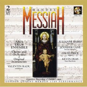 Handel: Messiah (London Covent Garden Version 1749) Ama Deus Ensemble - 2 CDs