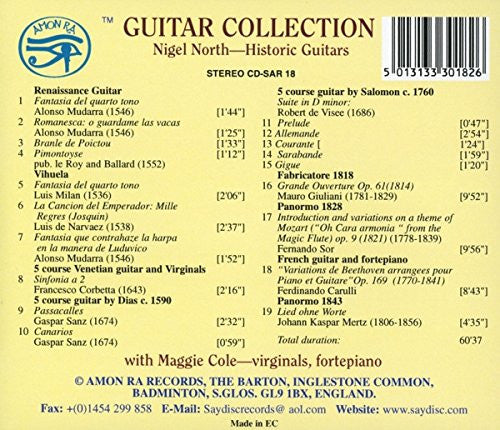 Guitar Collection - Nigel North, Maggie Cole