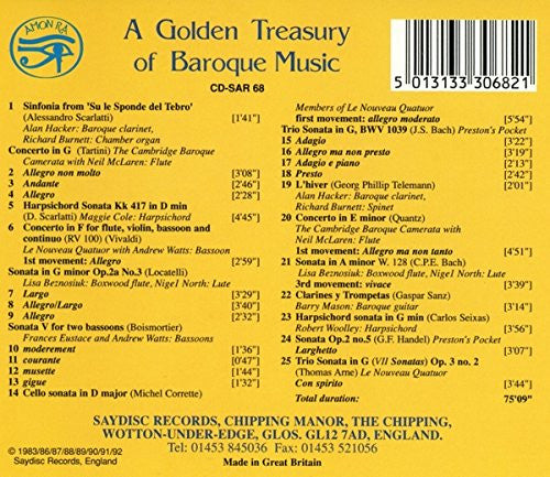 A Golden Treasury of Baroque Music (On Original Instruments)