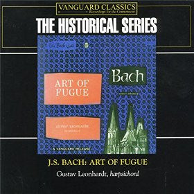 Bach: Art of Fugue - Gustav Leonhardt (2 CDs)