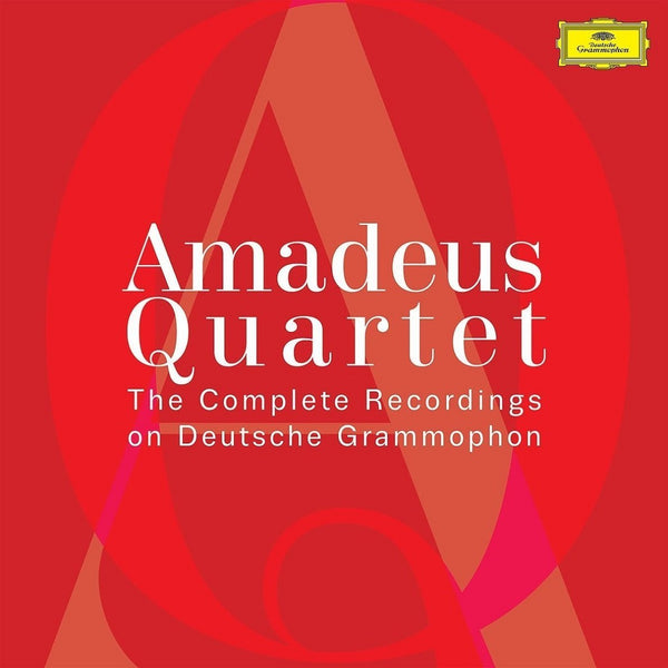 AMADEUS QUARTET: THE COMPLETE RECORDINGS ON DEUTSCHE GRAMMOPHON (70 CDS)
