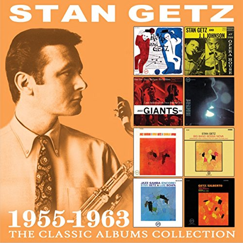 Stan Getz - The Classic Albums Collection: 1955-1963 (4 CDS)