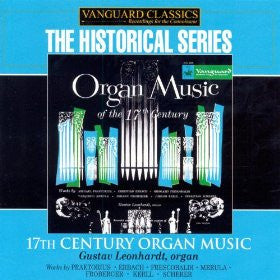 17th Century Organ Music - Gustav Leonhardt