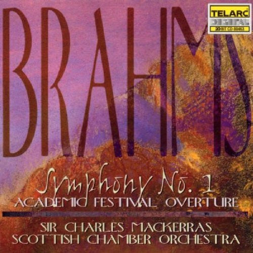 Brahms: Symphony No. 1 & Academic Festival Overture - Sir Charles Mackerras, Scottish National Orchestra
