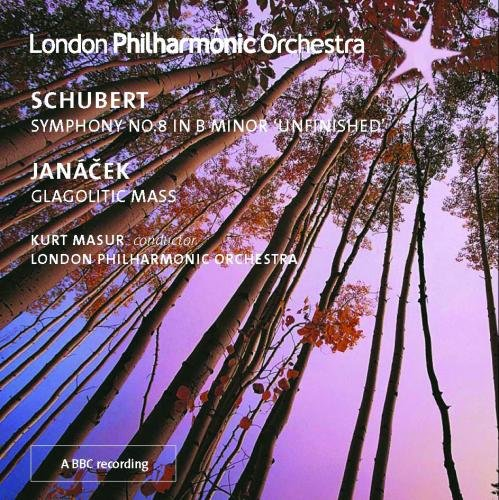 MASUR CONDUCTS JANACEK AND SCHUBERT - LONDON PHILHARMONIC ORCHESTRA, KURT MASUR