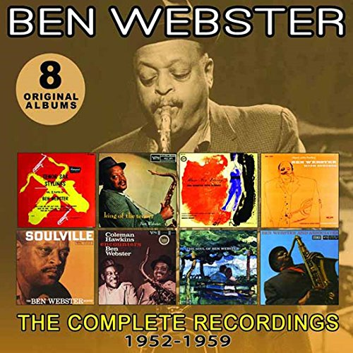 Ben Webster - Complete Recordings: 1952-1959 (4 CDS)