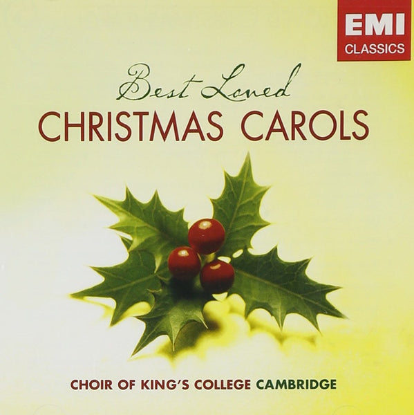 BEST LOVED CHRISTMAS CAROLS - KING'S COLLEGE CHOIR (2 CDS)