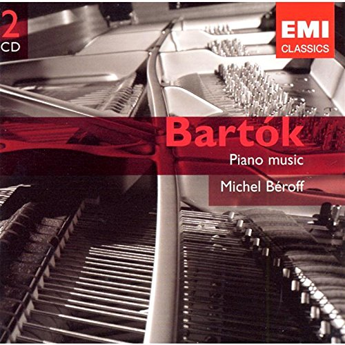 BARTOK: PIANO MUSIC - BEROFF, MICHEL (2 CDs)