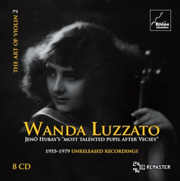 ART OF VIOLIN, VOLUME 2 - WANDA LUZZATO
