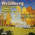 Weinberg: Symphony No.2 & Chamber Symphony No.2 - Umea Chamber Orchestra