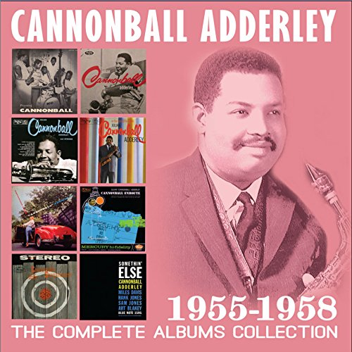 Cannonball Adderley - Complete Albums Collection 1955-1958 (4 CDS)