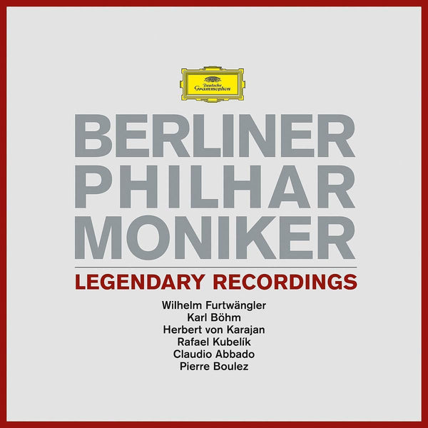 BERLIN PHILHARMONIC - LEGENDARY RECORDINGS (6 LPS)