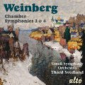 Weinberg: Chamber Symphonies 1 & 4 - Umea Chamber Orchestra