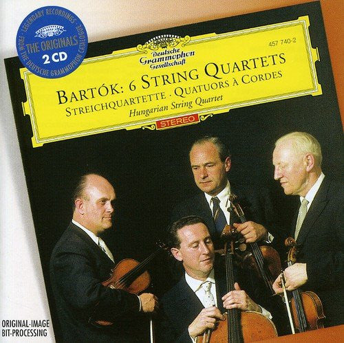 BARTOK: 6 STRING QUARTETS - HUNGARIAN STRING QUARTET