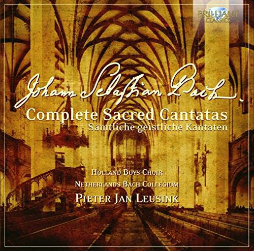 BACH: COMPLETE SACRED CANTATAS BWV 1-200 (50 CDS)