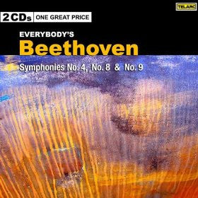 BEETHOVEN: Everybody's Beethoven - Symphonies No.4, No.8, & No.9 - Christoph von Dohnanyi & The Cleveland Orchestra