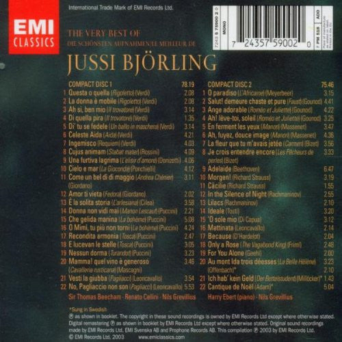 The Very Best of Jussi Bjorling