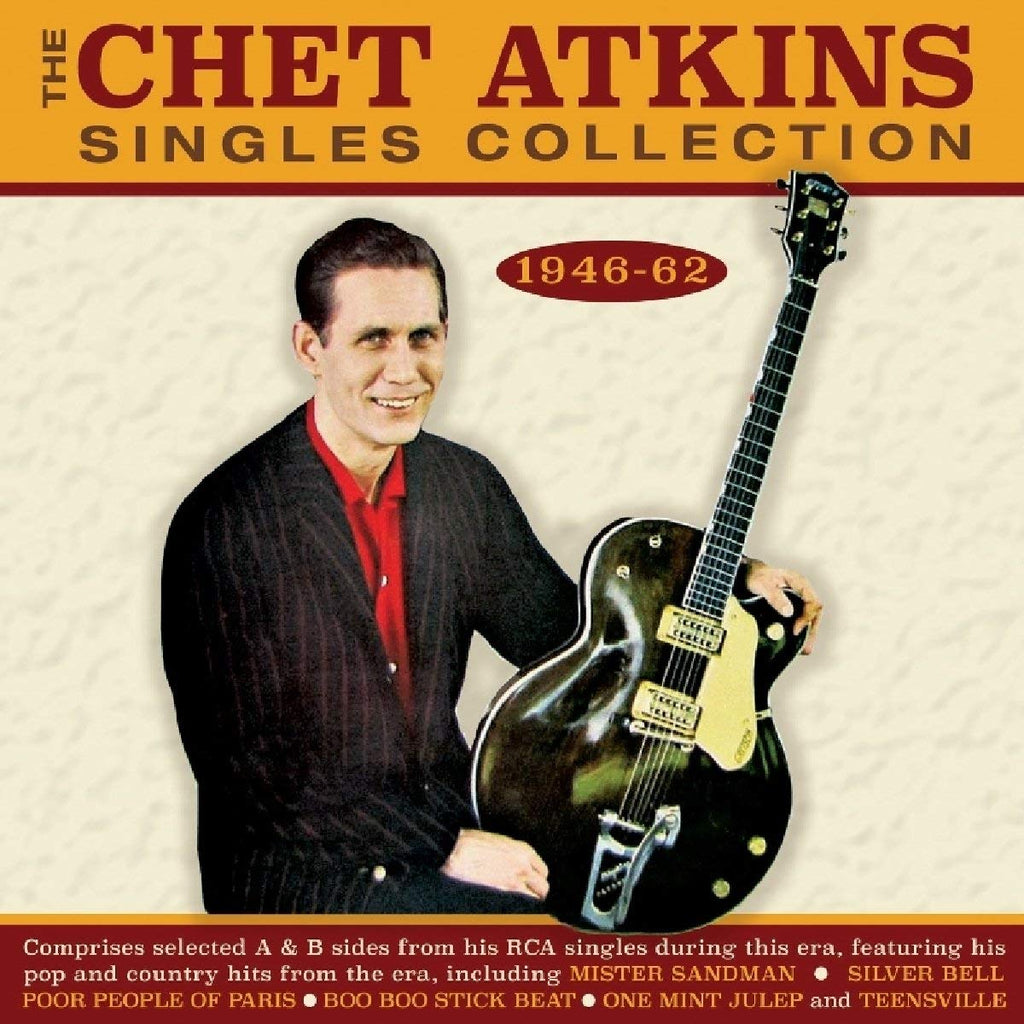 CHET ATKINS SINGLES COLLECTION (2 CDS)