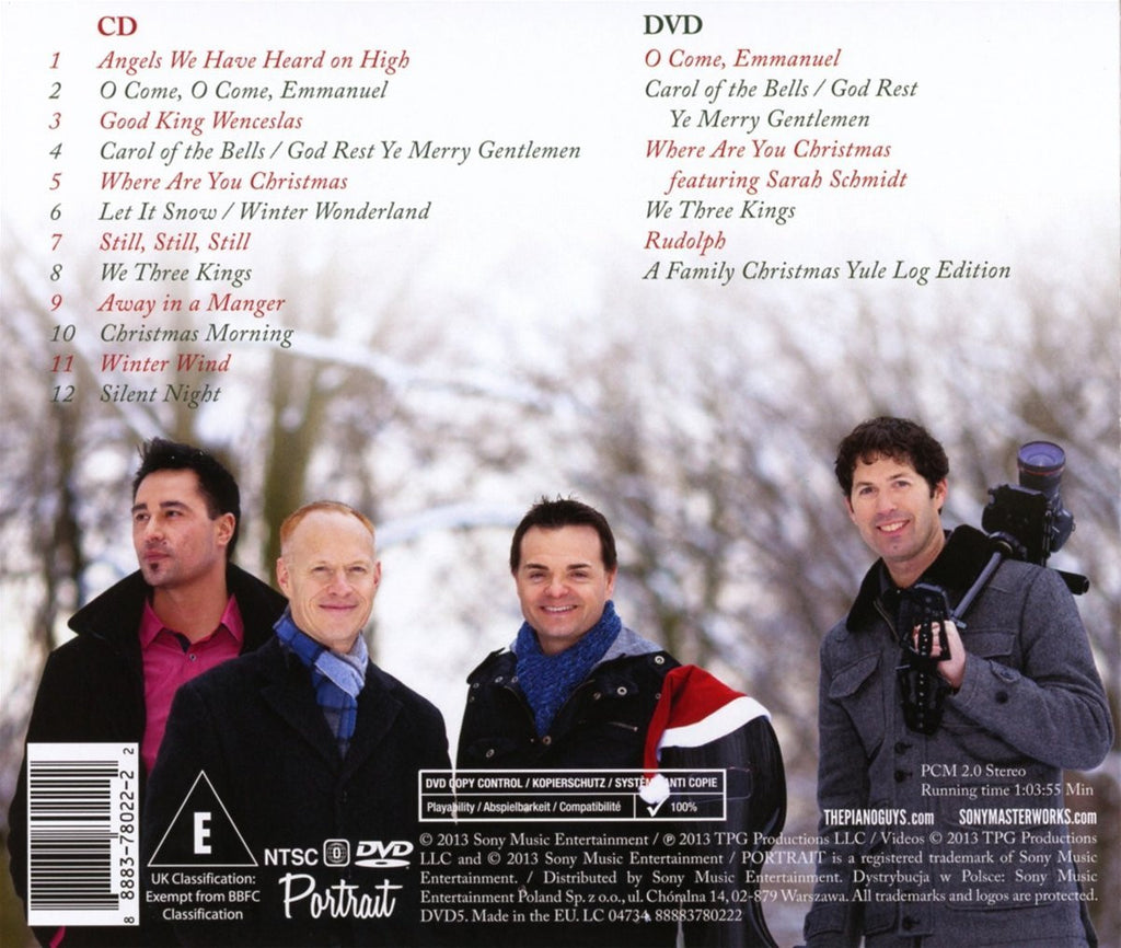 the piano guys a family christmas deluxe edition