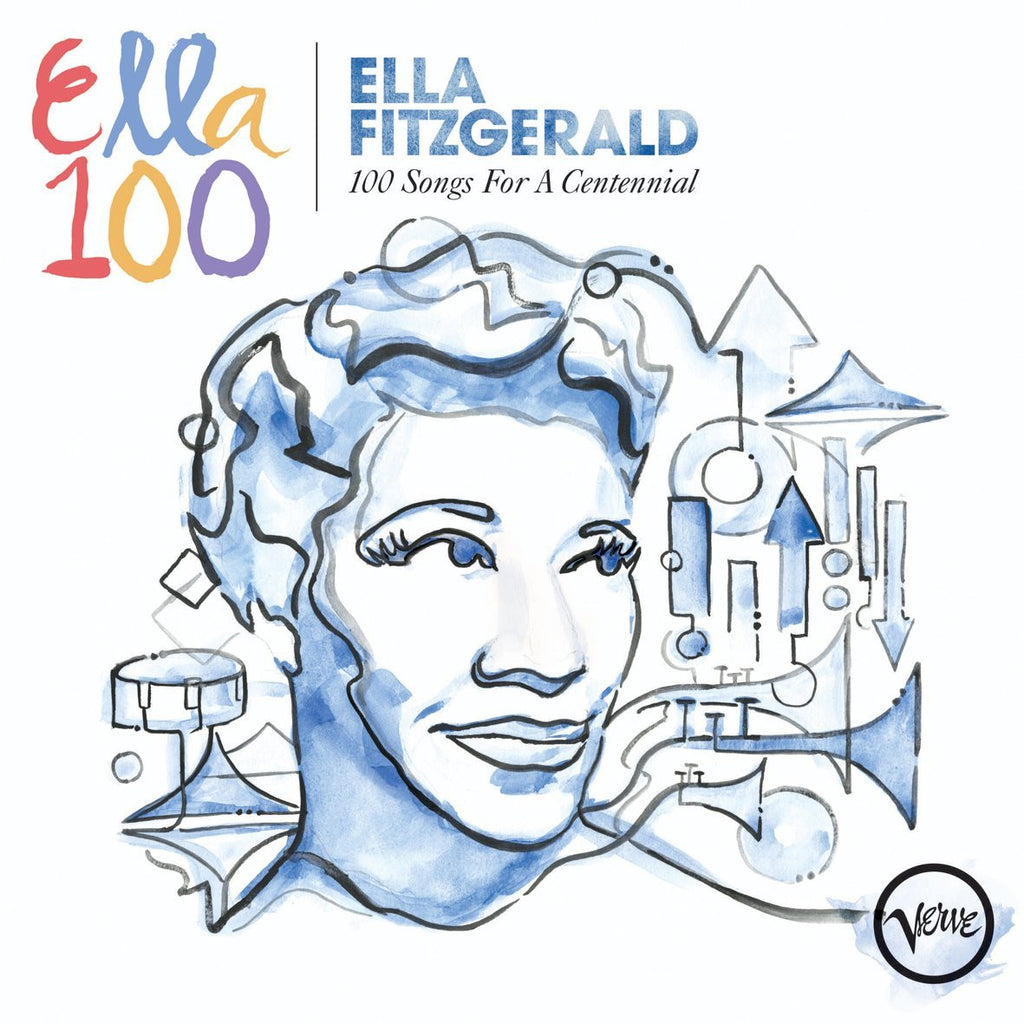 Ella Fitzgerald: 100 Songs for a Centennial (4 CDs)