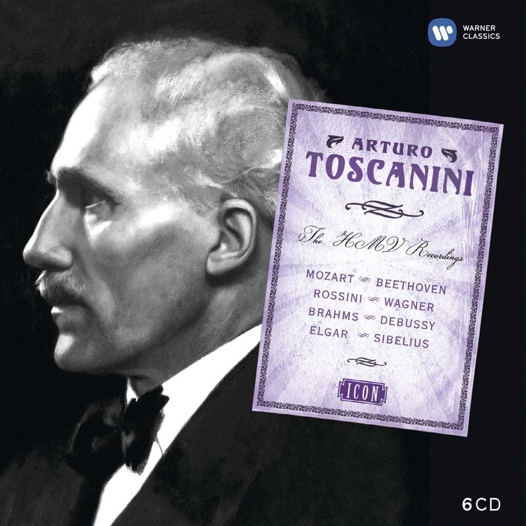 ICON: ARTURO TOSCANINI - THE COMPLETE HMV RECORDINGS