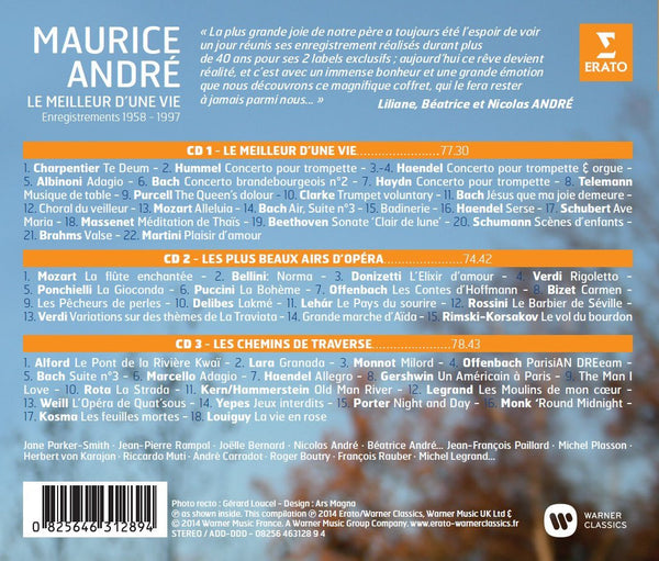 The Unforgettable Maurice Andre (3 CDs)