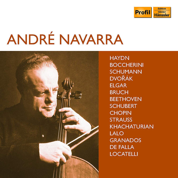 ANDRE NAVARRA: Haydn, Beethoven, Dvorák & Others - Works Featuring Cello (10 CDS)