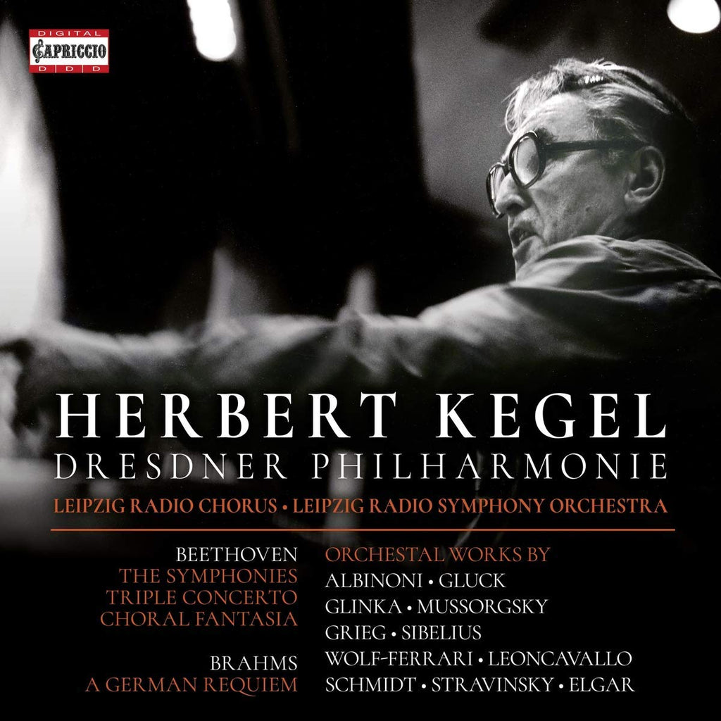 HERBERT KEGEL & THE DRESDEN PHILHARMONIC - Beethoven, Brahms & Others: Orchestral Works (8 CDS)
