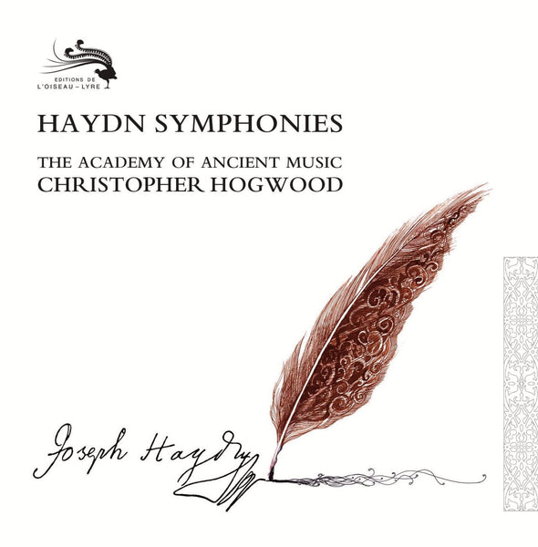 HAYDN: SYMPHONIES - CHRISTOPHER HOGWOOD, THE ACADEMY OF ANCIENT MUSIC (32 CDs)