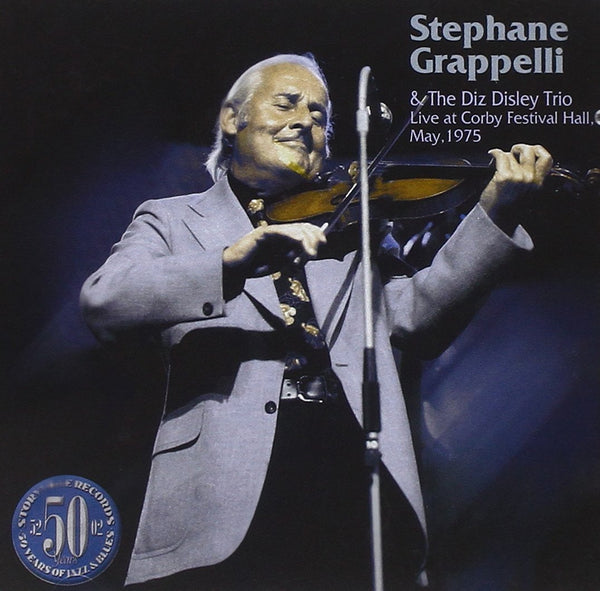 STEPHANE GRAPPELLI - LIVE AT CORBY FESTIVAL MAY 1975