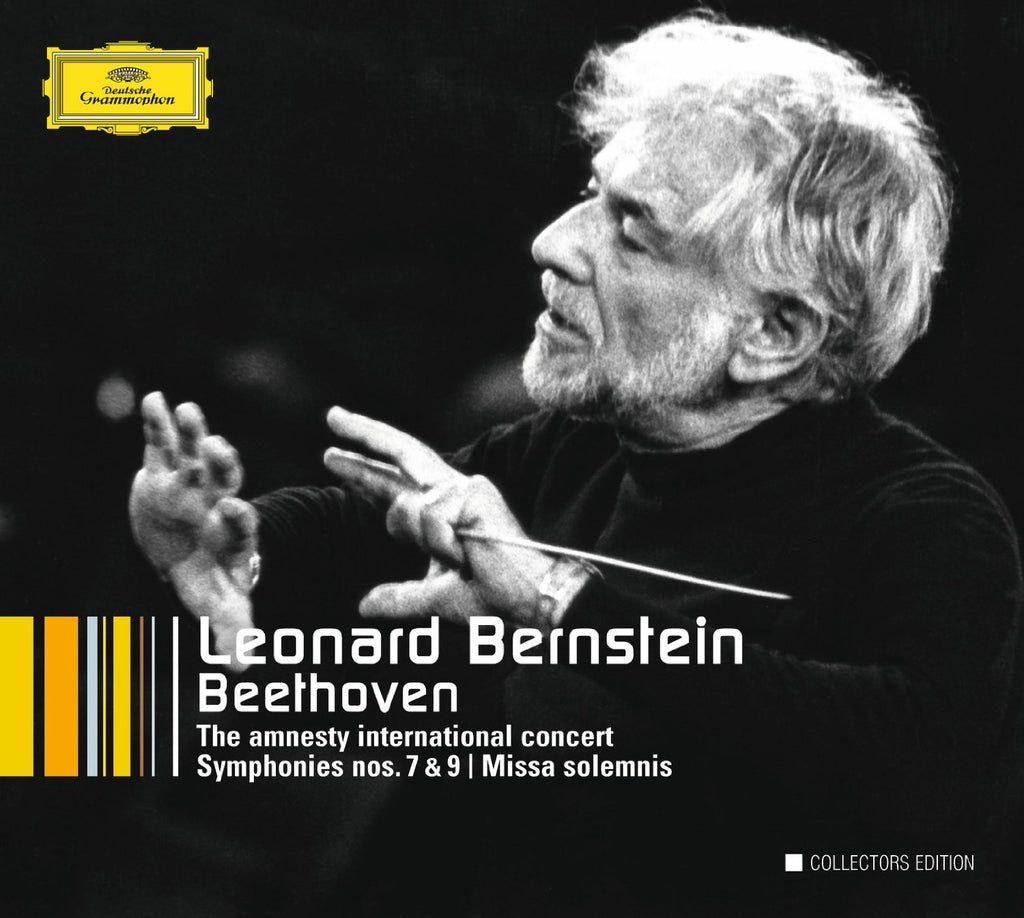 BEETHOVEN: THE AMNESTY INTERNATIONAL CONCERTS - LEONARD BERNSTEIN COLLECTORS EDITION (