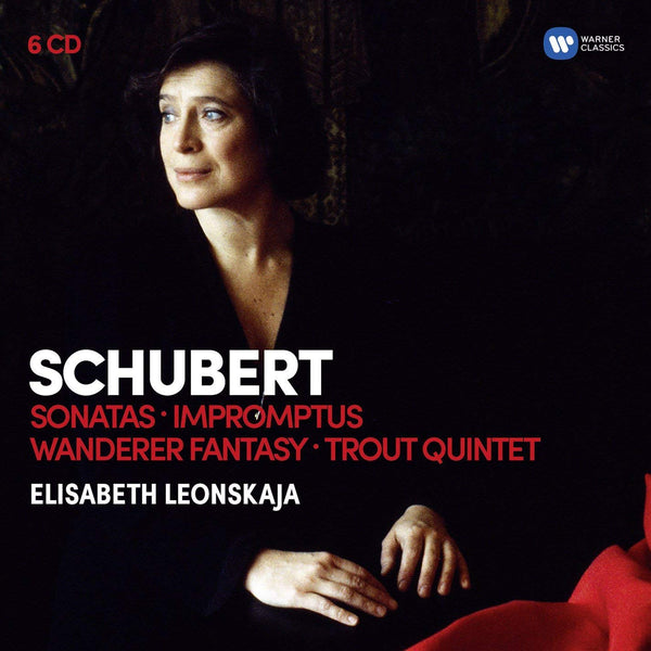 Schubert: Piano Masterworks - Elisabeth Leonskaja, Members of Alban Berg Quartett (6 CDS)