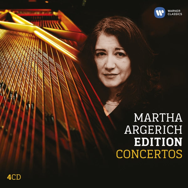Martha Argerich Edition: Concertos (4 CDs)