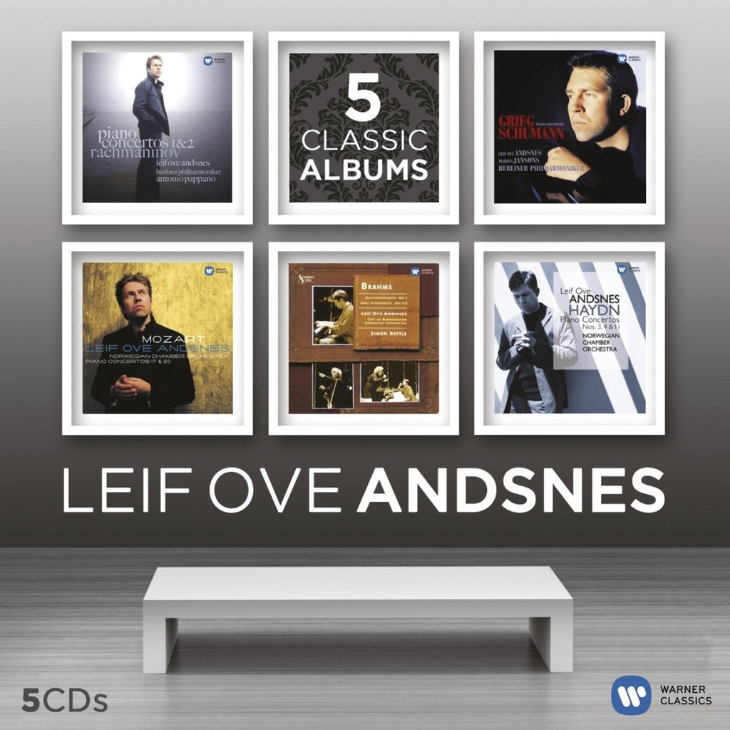 Leif Ove Andsnes: 5 Classic Albums