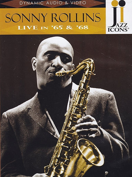 JAZZ ICONS: SONNY ROLLINS LIVE IN '65 AND '68 (DVD)