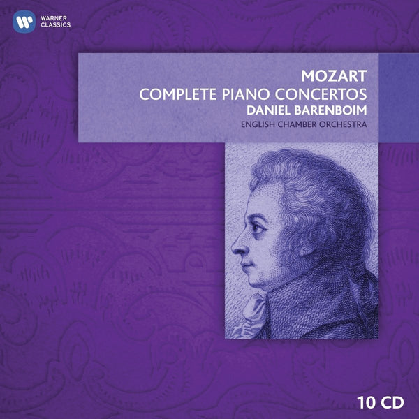 Mozart: The Complete Piano Concertos - Daniel Barenboim, English Chamber Orchestra (10 CDs)