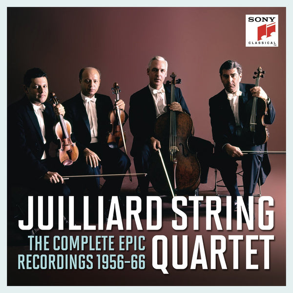 JUILLIARD STRING QUARTET: THE COMPLETE EPIC RECORDINGS 1956-1966 (11 CDS)