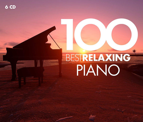 100 Best Relaxing Piano - Various Artists (6 CDS)